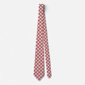 Rosa Blumen-Band Krawatte