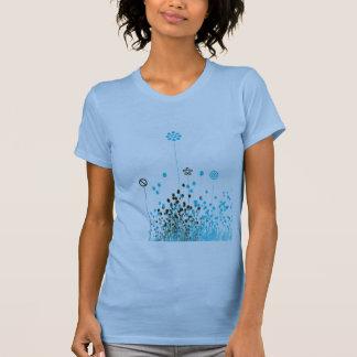 Rosa Blumen-Behälter T-Shirt