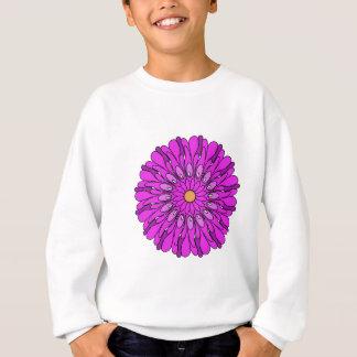 Rosa Blumen-Digital-Kunst-Entwurf Sweatshirt