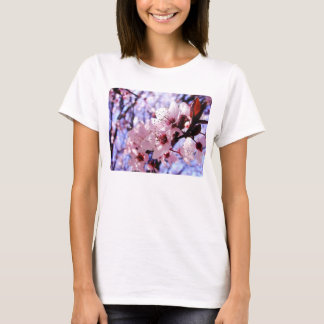 Rosa Blumen-Foto T-Shirt