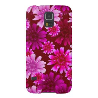 Rosa Blumen Galaxy S5 Hülle