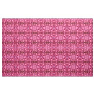 Rosa Blumen-Gewebe Stoff
