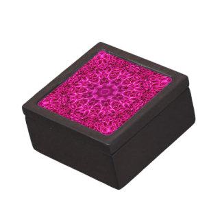 Rosa Blumen-Muster-   Andenkenkästen, 2 Größen Kiste