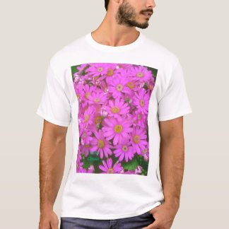 Rosa Blumen T-Shirt
