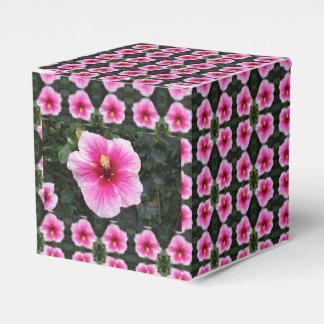 rosa Blumenbevorzugungskasten Geschenkschachtel