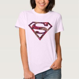 Rosa Blumenc$s-schild Hemden