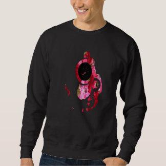 Rosa Blumengewehr 2 Sweatshirts