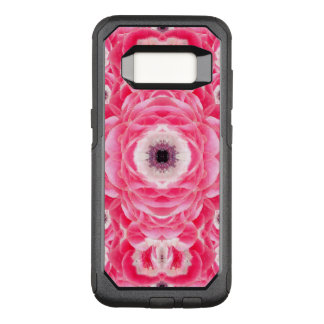 Rosa BlumenMandala OtterBox Commuter Samsung Galaxy S8 Hülle