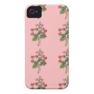 Rosa BlumenMobiltelefon-Kasten Case-Mate iPhone 4 Hüllen