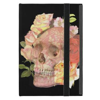Rosa Blumenschädel-Rosen-Bild Schutzhülle Fürs iPad Mini