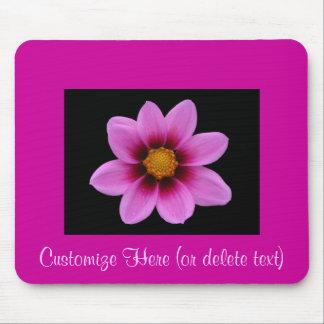 Rosa Blüte Mousepad ~ fertigen sich besonders an!