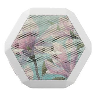 Rosa Blüten vom Süden Weiße Bluetooth Lautsprecher