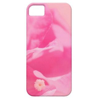Rosa Bouganvilla-Blätter und Blumen-Nahaufnahme iPhone 5 Hülle