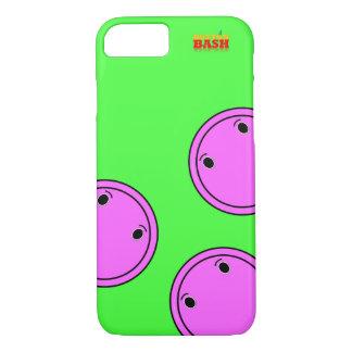 Rosa ButtonBash Limoner farbiger iPhone 7 Kasten iPhone 8/7 Hülle