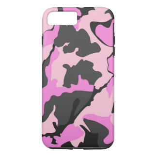 Rosa Camouflage, iPhone 7 starker Plusfall iPhone 8 Plus/7 Plus Hülle