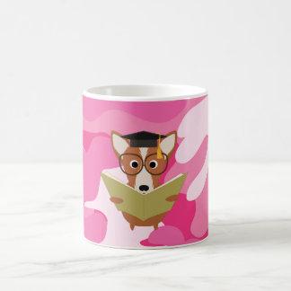 Rosa Camouflage-Studien-HundeTasse Kaffeetasse
