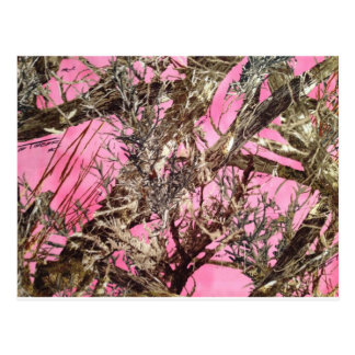 Rosa Camouflage - Tarnungs-Geschenke - Postkarte