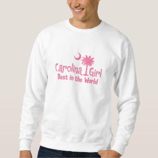 Rosa Carolina-Mädchen am besten in der Welt Sweatshirt