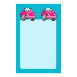 Rosa Cartoon-Auto Flyer