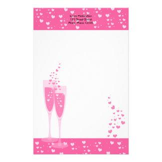 Rosa Champagne! Briefpapier