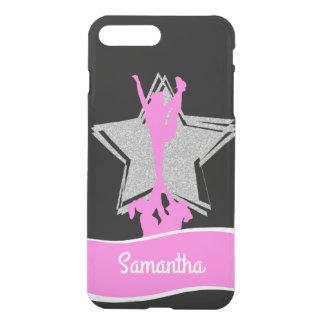 Rosa Cheerleader-Flyer personalisierter iphone 7 iPhone 8 Plus/7 Plus Hülle
