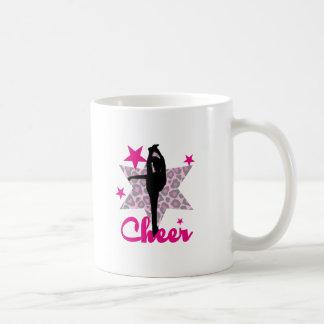 Rosa Cheerleader Kaffeetasse