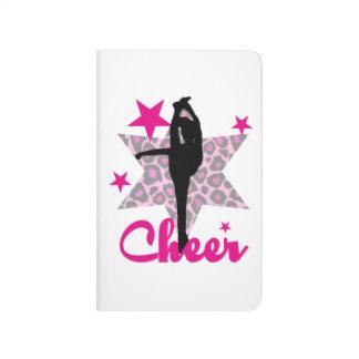 Rosa Cheerleader Taschennotizbuch