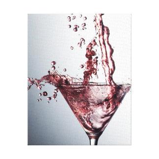Rosa Cocktail 3 Leinwanddruck