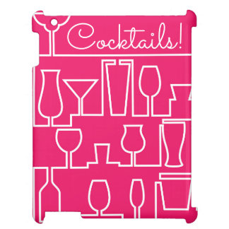 Rosa Cocktail-Party Hüllen Für iPad