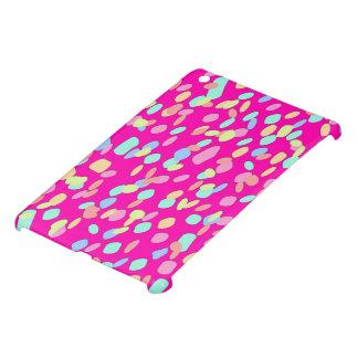 Rosa Confetti-Muster-Entwurf iPad Mini Hülle
