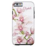 Rosa Cymbidium-Orchidee BlumeniPhone 6 Fall Vibe Tough iPhone 6 Hülle