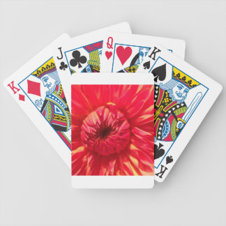 Rosa Dahlie Bicycle Spielkarten
