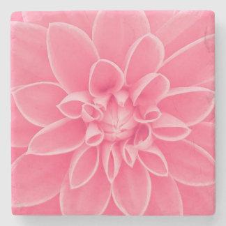 Rosa Dahlie-Blume Steinuntersetzer
