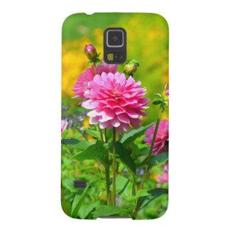 Rosa Dahlie-Blumengarten Samsung S5 Hüllen
