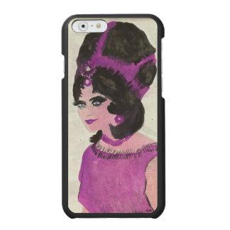 Rosa Dame Incipio Watson™ iPhone 6 Geldbörsen Hülle