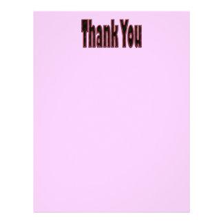 Rosa danken Ihnen 21,6 X 27,9 Cm Flyer