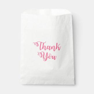 Rosa danken Ihnen Herz-Hochzeit/Brautparty-Party Geschenktütchen