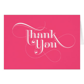 Rosa danken Ihnen Karten