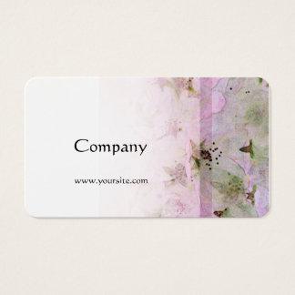Rosa der Kirschblüten-2 Visitenkarte