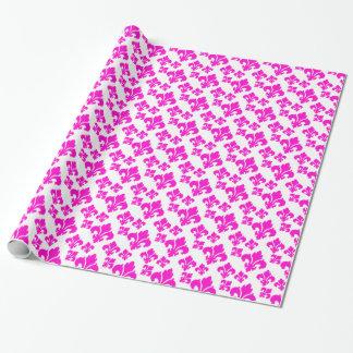 Rosa der Lilien-4 Einpackpapier
