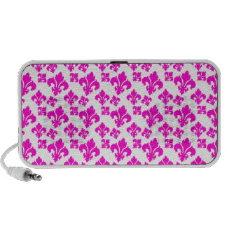 Rosa der Lilien-4 Notebook Speaker
