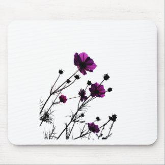 Rosa Digital-Entwurfs-Kunst-Glühen-Steigungs-Digit Mousepad