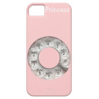 Rosa Drehtelefon iPhone 5 iPhone 5 Schutzhülle