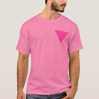 Rosa Dreieck T-Shirt