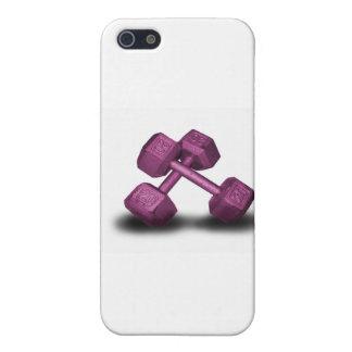 Rosa Dumbbells-Waren iPhone 5 Etui