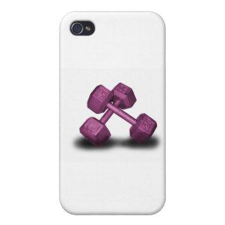 Rosa Dumbbells-Waren iPhone 4 Case