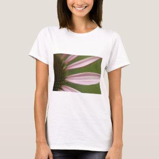 Rosa Echinacea Coneflower Blüten-Makro T-Shirt