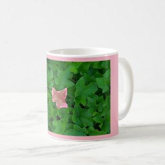 Rosa Efeu-Tasse Kaffeetasse