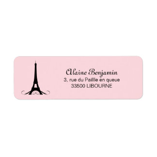 Rosa Eiffelturm Paris