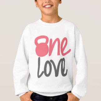 """Rosa """"eine Liebe """" Sweatshirt"""